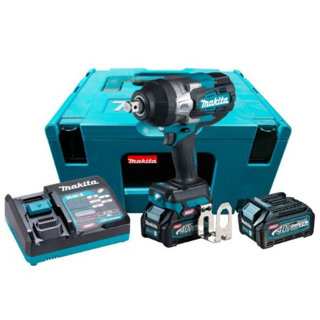 Chave De Impacto 40,0v 2 Baterias 2,5ah Tw001gd201 Makita