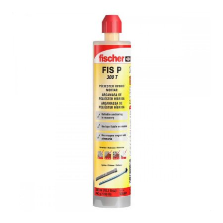 Chumbador Quimico Fischer Fis P 300t 490G/300ML