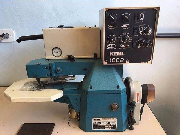 Maquina Fabricar Produção Calçados Vira Dobrar Palmilha Kehl 1002