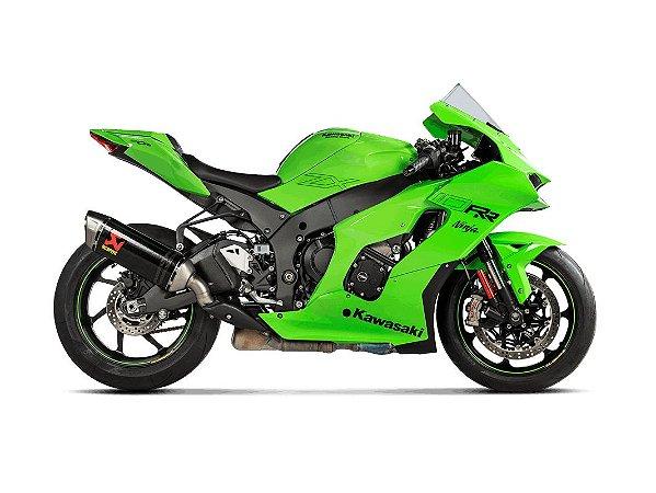 Ponteira Akrapovic Carbono para Kawasaki ZX10 R (21~)