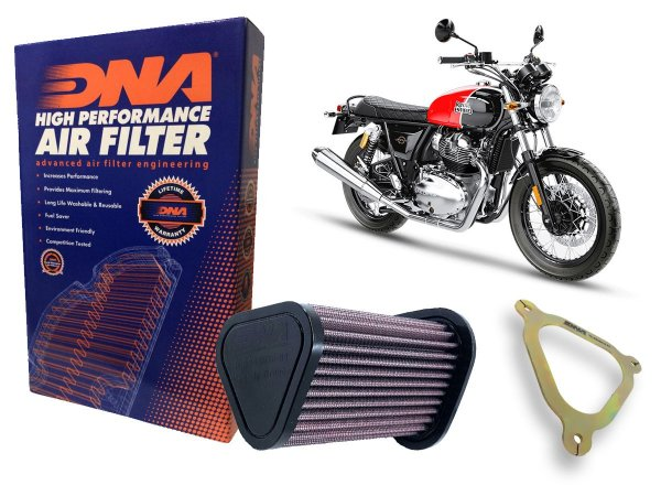 Kit Filtro de Ar Esportivo DNA + Estagio 2 Interceptor 650