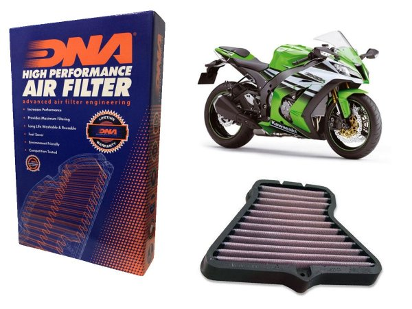 Filtro de Ar Esportivo DNA Filters Kawasaki ZX 10 R 11'~15'