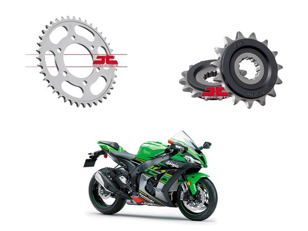 Coroa e Pinhão JT Sprockets Kawasaki ZX10 (11'~)