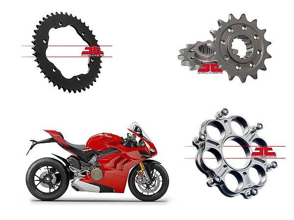 Coroa e Pinhão JT Sprockets Ducati Panigale 1100 V4 (19'~)