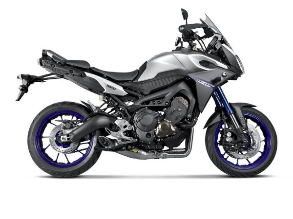 Escapamento full Akrapovic Racing Line ponteira  titanio - Yamaha MT09/ Tracer 900 (15~19)