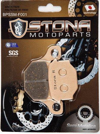 Pastilha de freio Stona Semi metálica F001