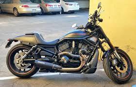 Escapamento full Akrapovic  Open Line Nightrod ponteira preta - Harley Davidson V-Rod (09~16)