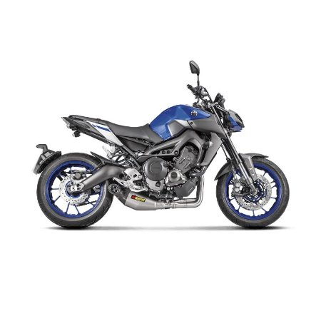Escapamento Akrapovic Racing Line ponteira em titanio e carbono - Yamaha MT09 / Tracer 900 (15~)
