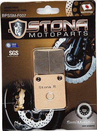 Pastilha de freio Stona Semi metálico F007