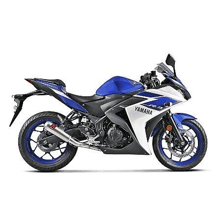 Escapamento Racing Line Akrapovic Inox- Yamaha R3/MT03 (15~)