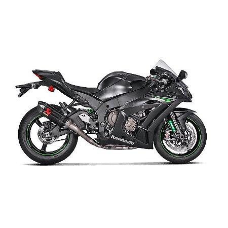 Ponteira Akrapovic carbono - Kawasaki ZX10 R ( 16~17)