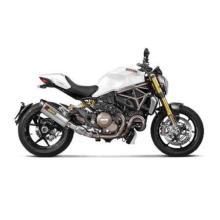 Ponteira Akrapovic titânio - Ducati Monster 821 (16~17)