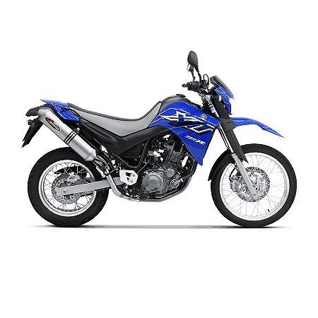 Ponteira Akrapovic dupla titanio  - Yamaha XT 660 R