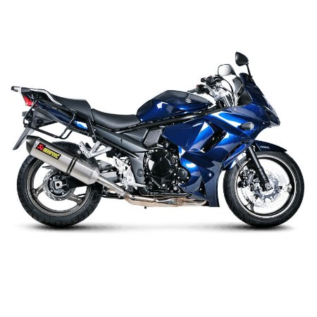 Ponteira Akrapovic titanio - Suzuki Bandit 1250.