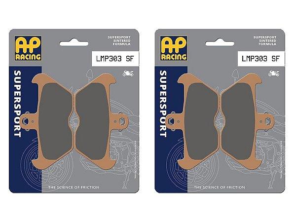 Pastilha de freio dianteira AP Racing sinterizada HH LMP 303 SF