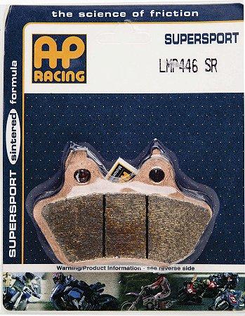Pastilha de freio TRASEIRA SINTERIZADA GG AP Racing LMP 446 SR