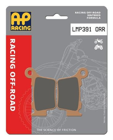 Pastilha de freio dianteira AP Racing sinterizada MX LMP 391 ORR
