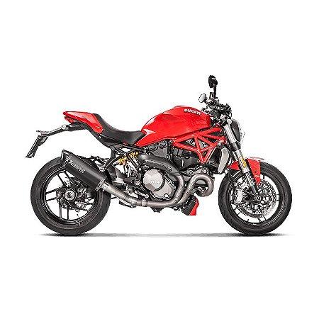 Ponteira Akrapovic titânio - Ducati Monster 1200 (17~18).