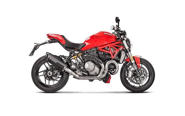 Ponteira Akrapovic Titânio - Ducati Monster 1200 (2016)