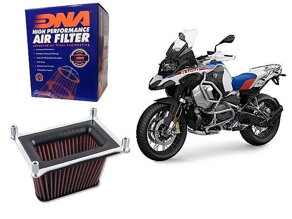 FILTRO DE AR ESPORTIVO DNA ESTAGIO 2 - BMW R 1200 GS  ADVENTURE (2013-18) / R 1250 GS (2019-21)