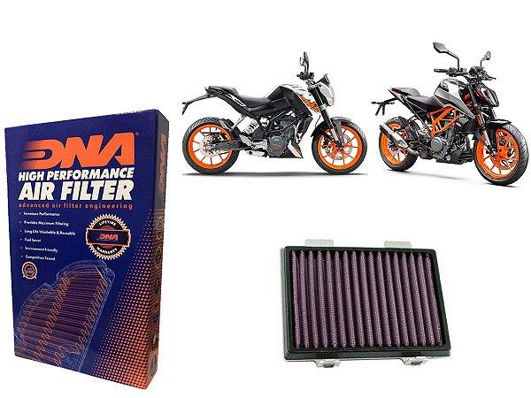 FILTRO DE AR ESPORTIVO DNA KTM DUKE 220 / 390 16-19