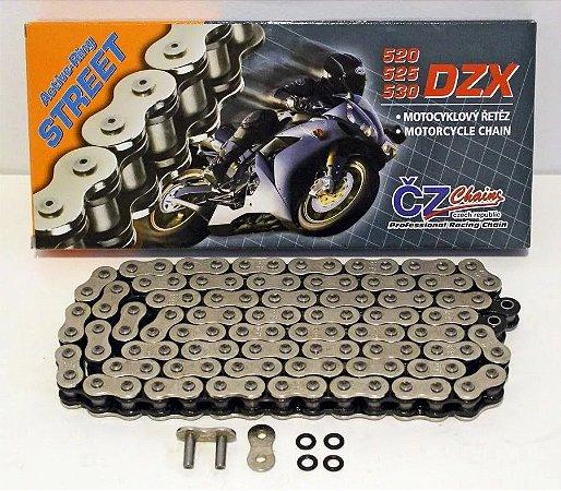 """Corrente CZ Chains 530 X 120 DZX com retentor em """"X"""""""