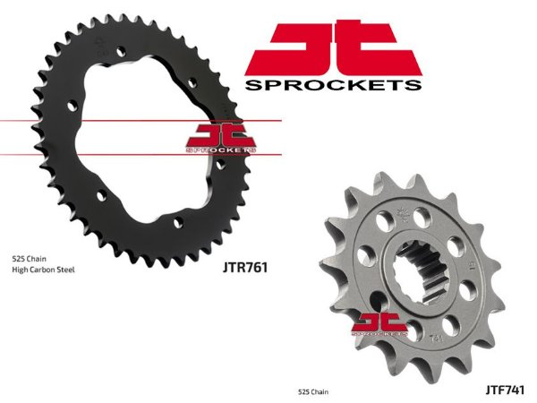 Coroa e Pinhão JT Sprocket Ducati 1098, 1099 Streetfighter, 1198