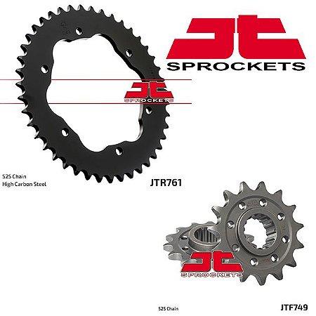 Coroa com Adaptador e Pinhão  JT Sprockets Ducati Panigale 1199/1299