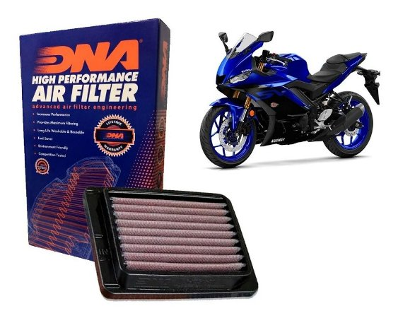 Filtro de Ar Esportivo DNA Yamaha R3/ MT03 (14~)
