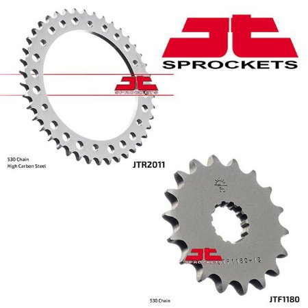 Coroa e Pinhão JT Sprockets Triumph 1050 Speed Triple (2012-15) / R (2012-16)
