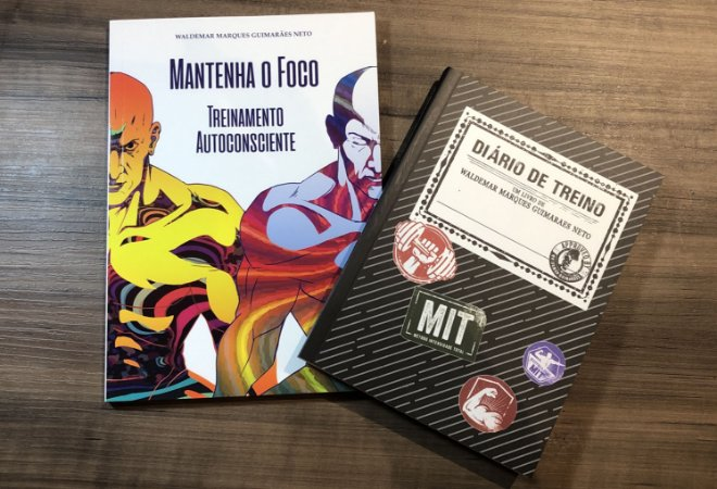 Promoção Relampago Livro Mantenha o Foco + Diario de Treino.