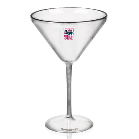 Taça Martini 350ml - Poliestireno Acrilico PS