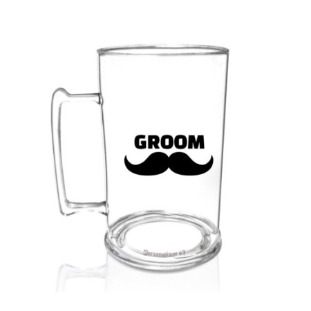 Caneca Acrilico PS 450ml  - Groom
