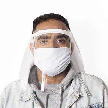 Máscara Facial Protetora (Face Shield)