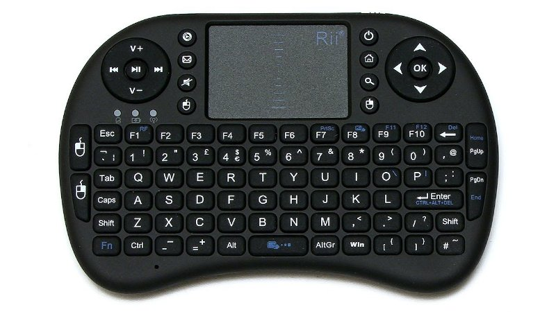 Mini Teclado Wireless Bluetooth Touch Screen Smart Tv Ps4