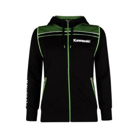 BLUSA KAWASAKI SPORTS HOODED FEMININO PRETO