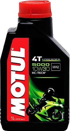 ÓLEO MOTUL 5000 4T 10W30 - 1L