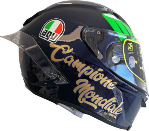CAPACETE AGV PISTA GP R MORBIDELLI WORLD CHAMPION 2017