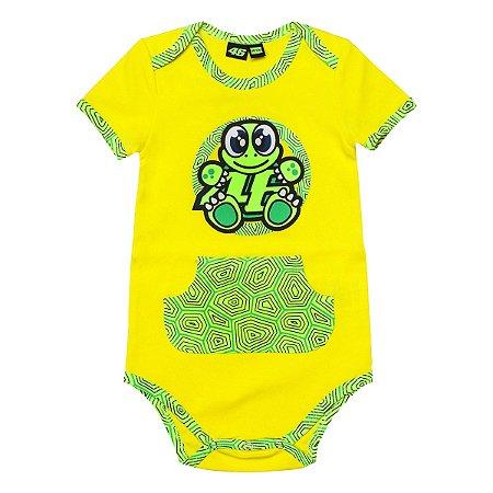 BODY BABY VR46 TARTARUGA - AMARELO/VERDE