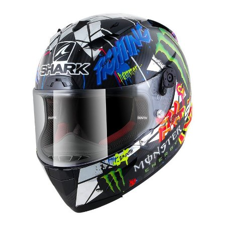 CAPACETE SHARK RACE-R PRO IN CARBON LORENZO CATALUNYA GP