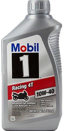 ÓLEO MOBIL 1 RACING 4T 10W40 - 1L