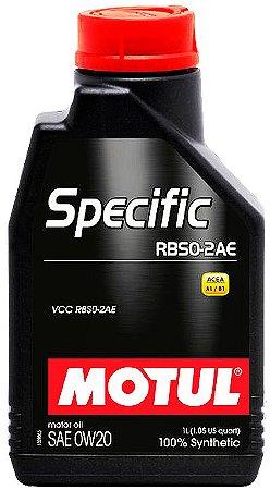 ÓLEO MOTUL SPECIFIC RBS0-2AE 0W20 - 1L
