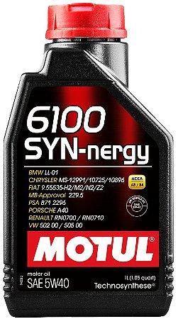 ÓLEO MOTUL 6100 SYN-NERGY 5W40 - 1L