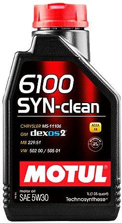 ÓLEO MOTUL 6100 SYN-CLEAN 5W30 - 1L