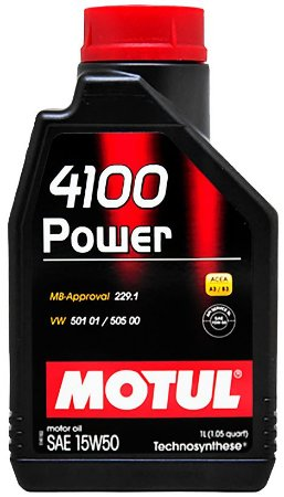 ÓLEO MOTUL 4100 POWER 15W50 - 1L