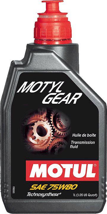 ÓLEO MOTUL MOTYLGEAR 75W80 - 1L