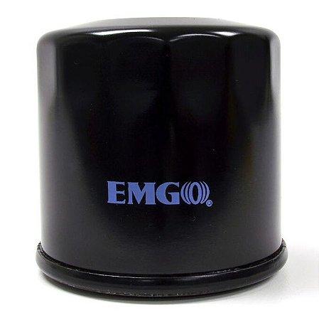 FILTRO DE ÓLEO EMGO BLACK SPIN ON DUCATI - 10-26980