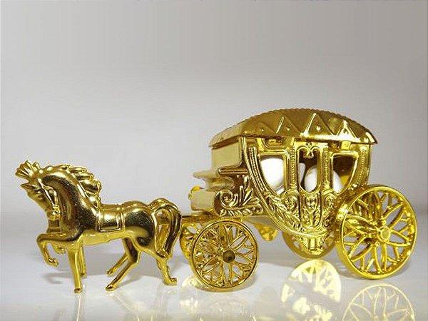 Carruagem Princesa Dourada - 10 unids