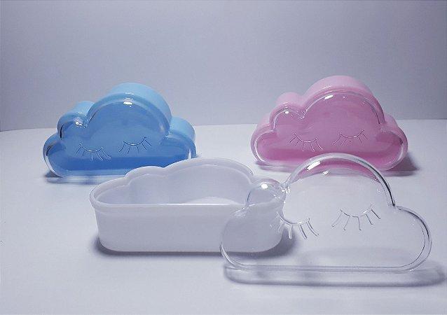 10 Mini Nuvem Chuva De Amor Acrílico Lembrancinha Caixinha
