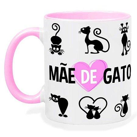 Caneca Personalizada Mãe de Gato